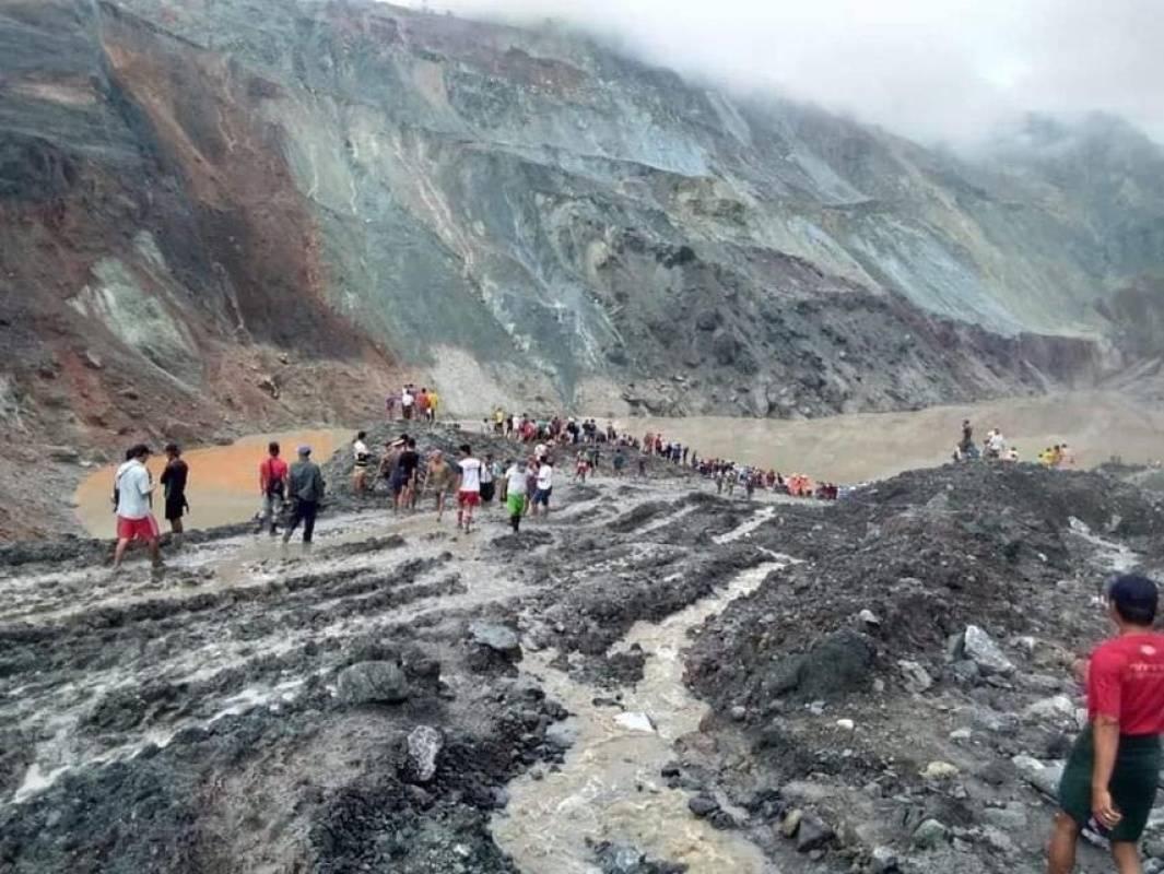 缅甸翡翠矿区塌方已致172人遇难,系缅矿难伤亡数最多一次