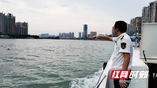 """衡阳水路运政部门提醒:江河""""野泳""""切勿进入主航道"""