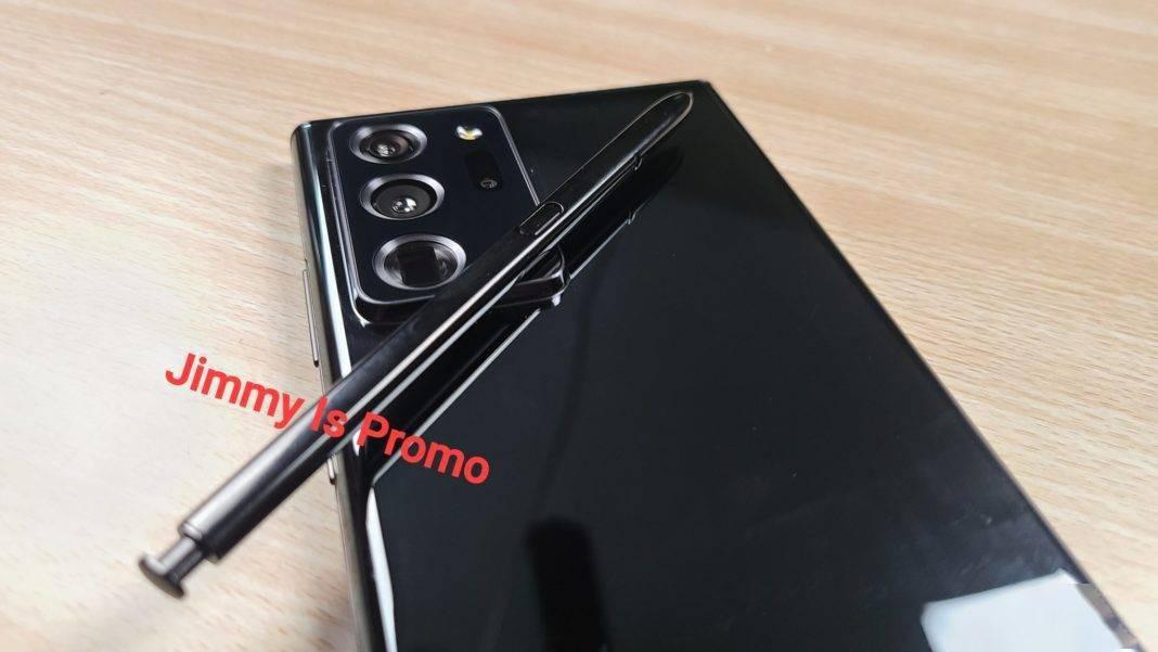 Galaxy Note 20 Ultra疑似真机照曝光:质感不错