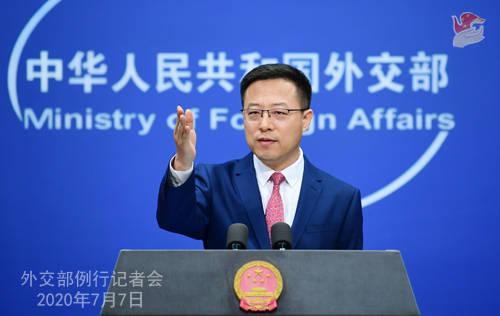英方裁定中国国际电视台播放韩飞龙认罪录像违规,赵立坚回应