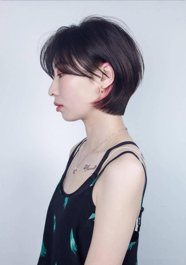 新时尚发型20款,让你颜值翻倍,想不美都难_短发