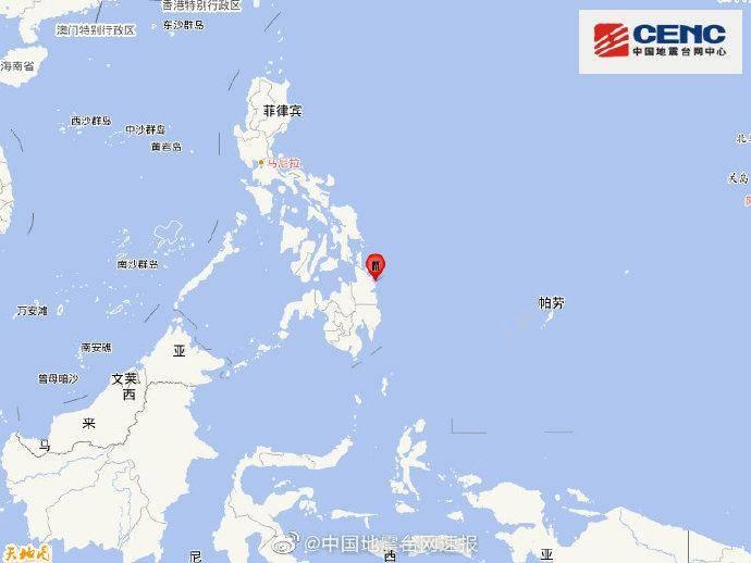 北京南银大厦菲律宾棉兰老岛附近海域发