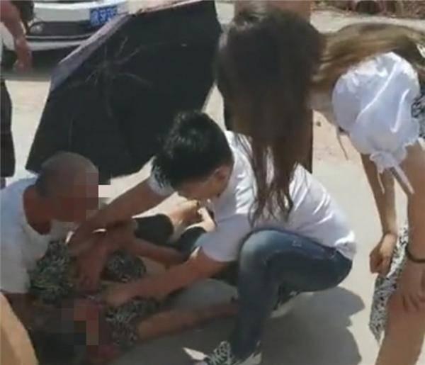 点赞!在吉林就读的一名医学生在四川老家救人 挽救伤者生命