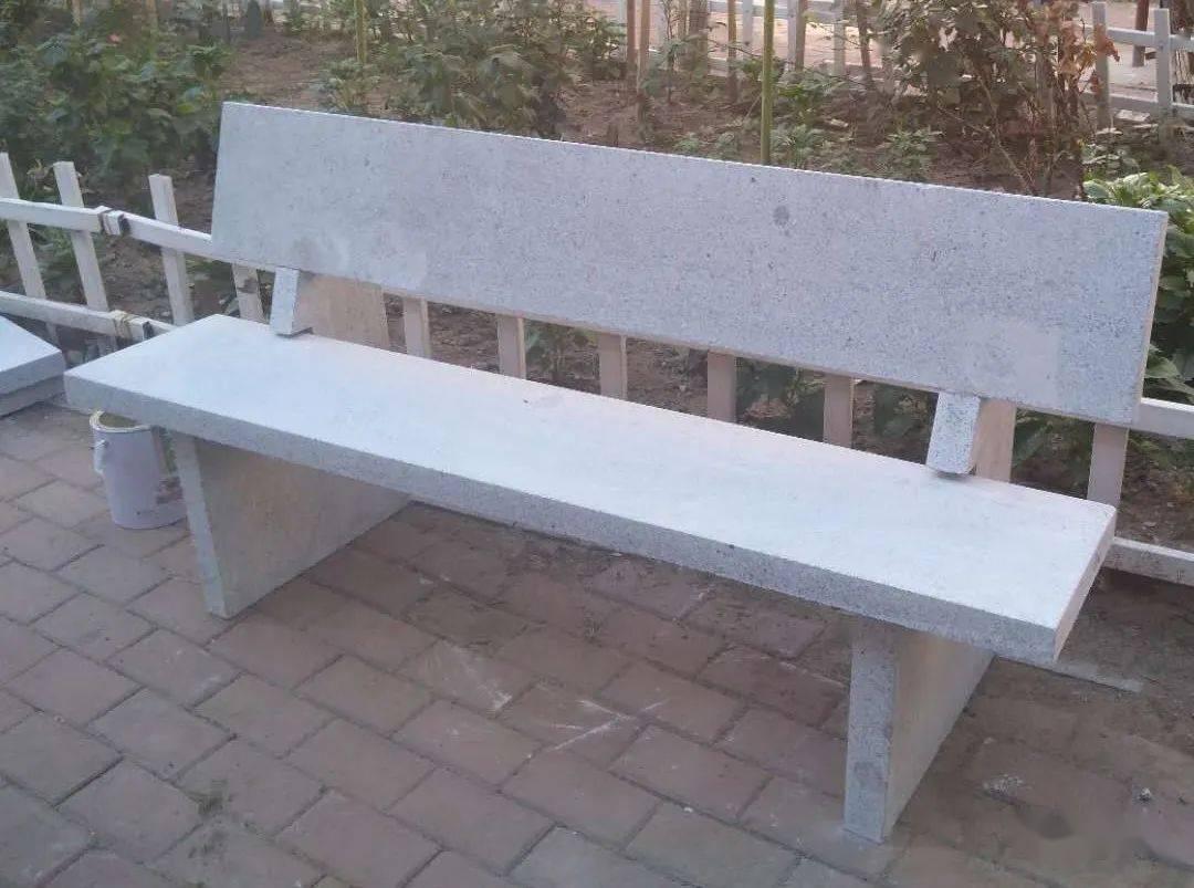 庭院石桌石凳效果图