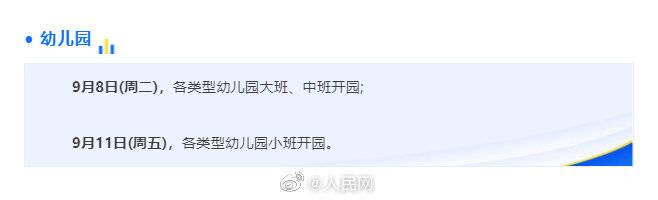 北京开学时间定了!中小学、高校、幼儿园错峰返校
