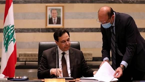 黎巴嫩政府宣布辞职