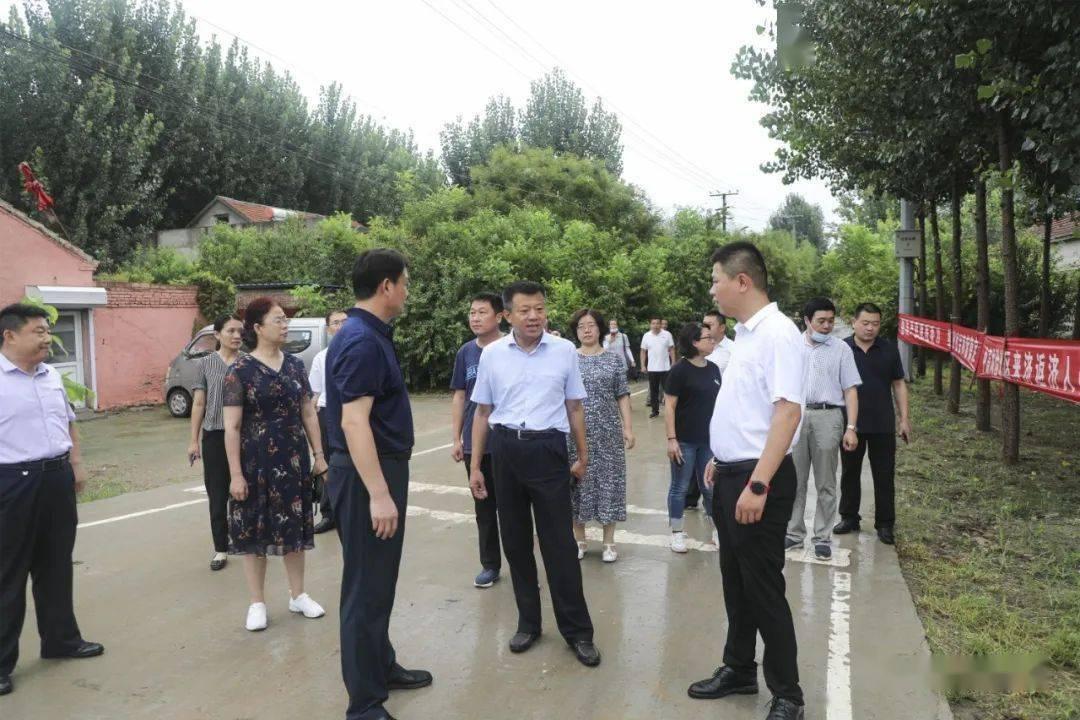 济南高新区召开农村人居情况整治夏季行