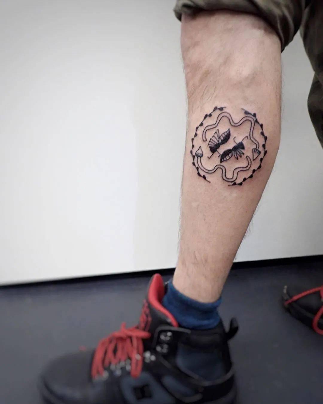 太酷了!日本女孩6岁入行,是全世界最小纹身师…看完我却只想拥有同款爸爸!插图(39)