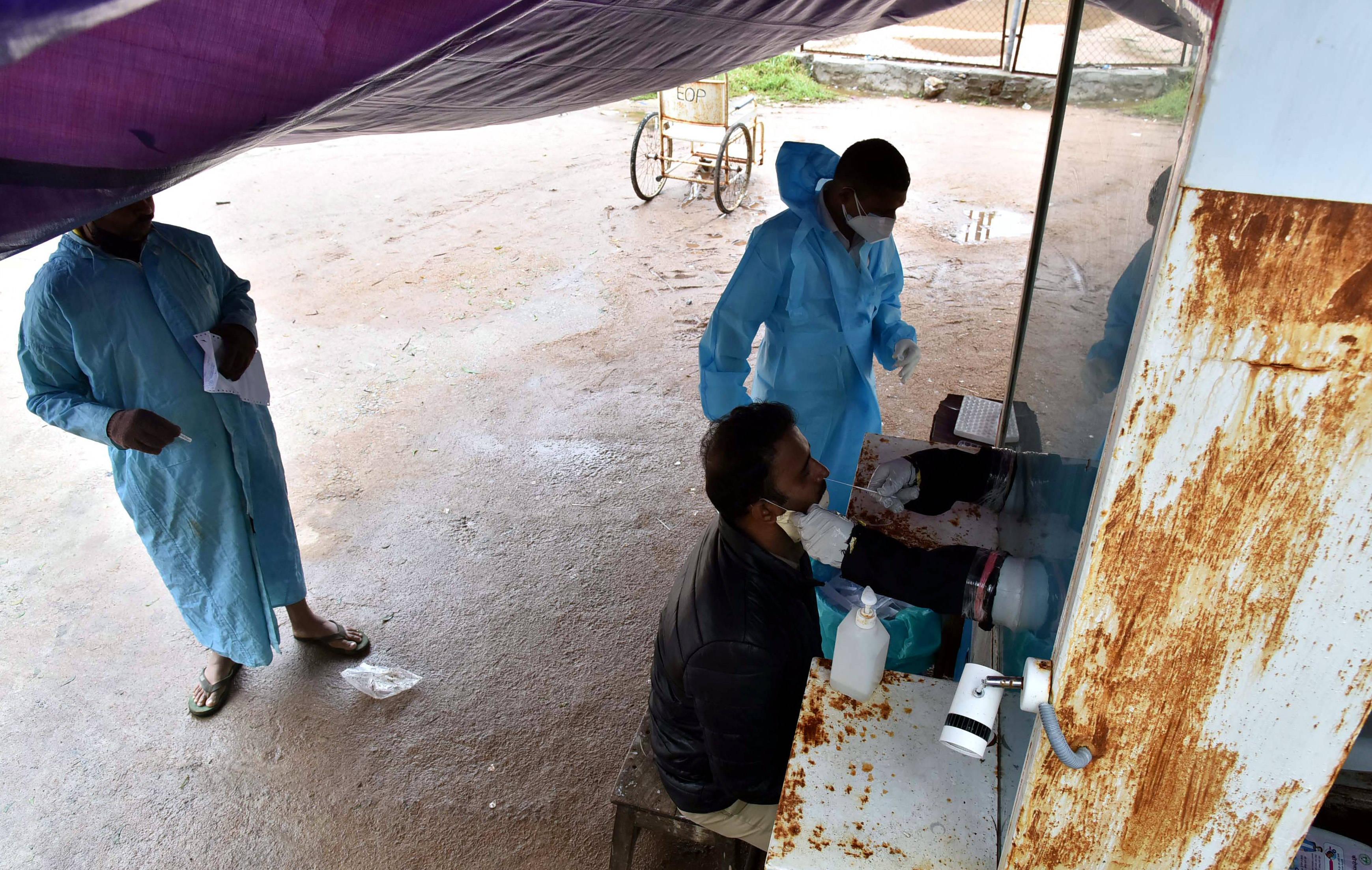 印度:检测取样