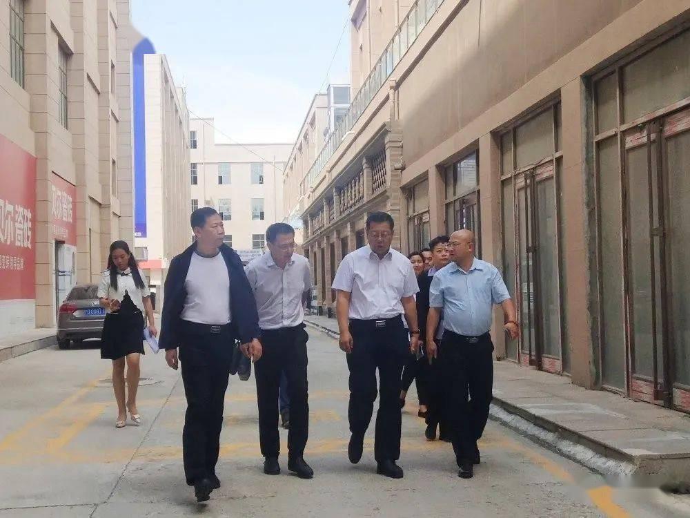 热情接待宁夏司法厅副厅长张等同志来我公司视察指导工作