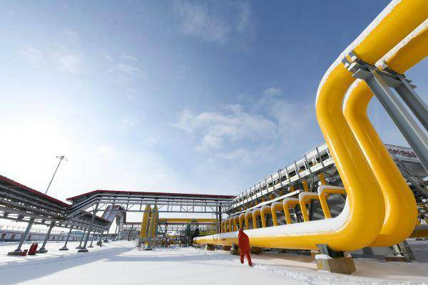俄媒:俄罗斯天然气新管道将令对华运力加倍