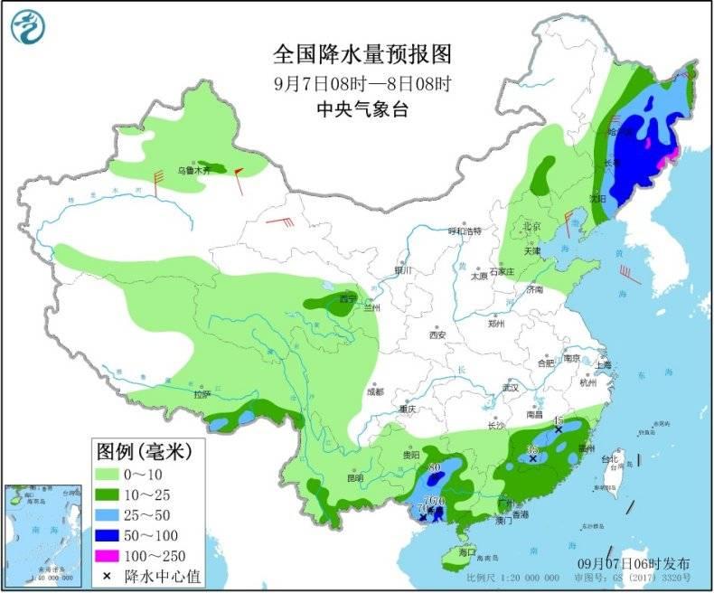 """台风""""海神""""影响东北今起风雨增强,北方多地气温将创新低"""