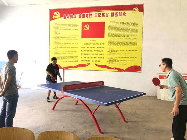 """遂平县石寨镇工会举行""""廉政杯""""职工乒乓球比赛"""