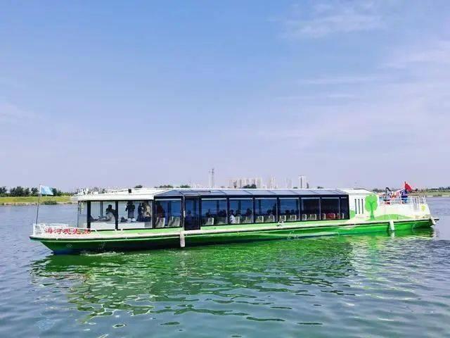 天津海河首艘新能源邮轮将下水,未来将淘汰油轮。 江苏海河新能源有限公司合肥