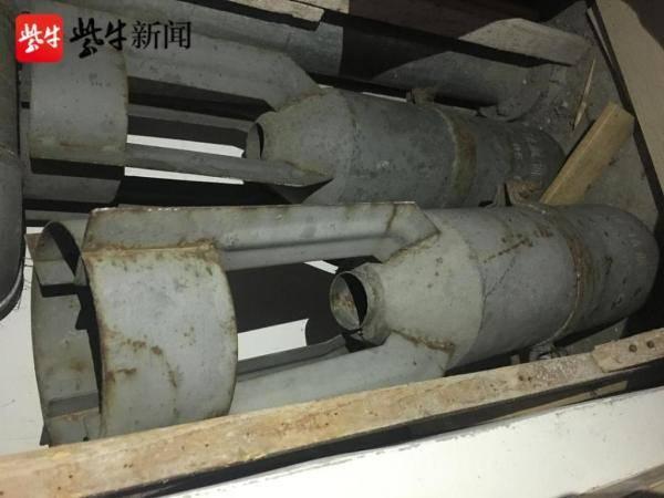 快三彩票下载:小区走廊里有两枚炸弹吗?这是一个空的弹壳,主人搬家时忘了带走。 中国最贵的小区是哪里