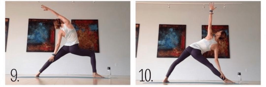 这 2 套「流瑜伽」序列,打开髋部、力量爆棚!