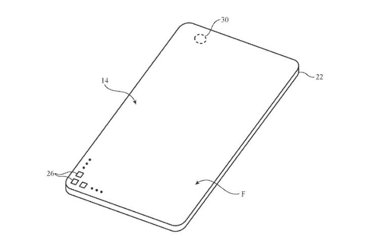 最前线丨苹果新专利曝光,无刘海的iPhone不远了