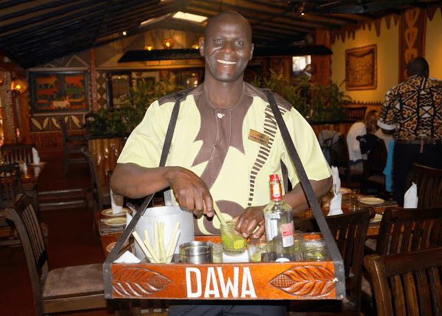 当代Dawa,黑人老哥在线调酒
