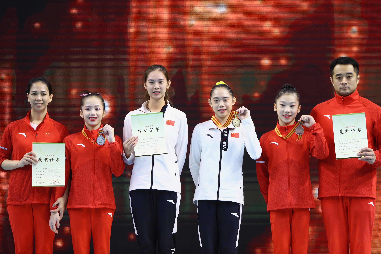 体操——全国锦标赛:刘婷婷夺得女子个人全能冠军