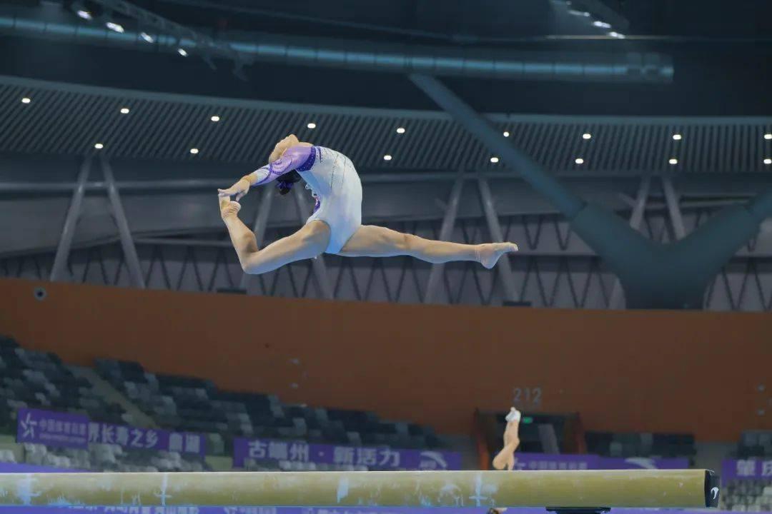 激战!刘婷婷获全国体操锦标赛个人全能冠军