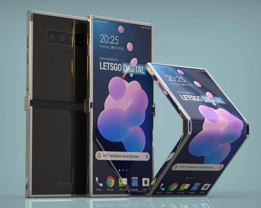 專利顯示HTC正在開發一款可折疊的智能手機