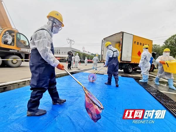 30分钟安全处置 湖南开展突发环境事件应急演练