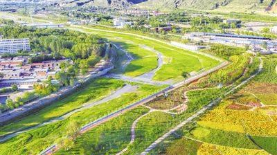 清水河:一河绿水向北流