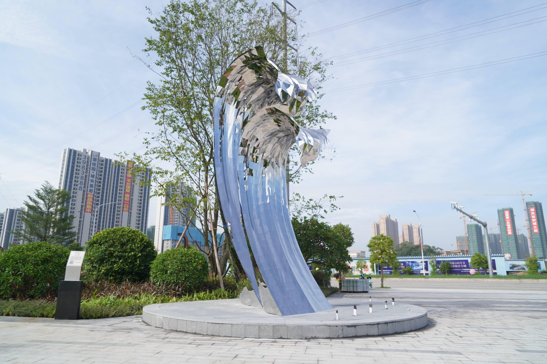 茂名市举行首届城市艺术季,公共艺术融入都市生活