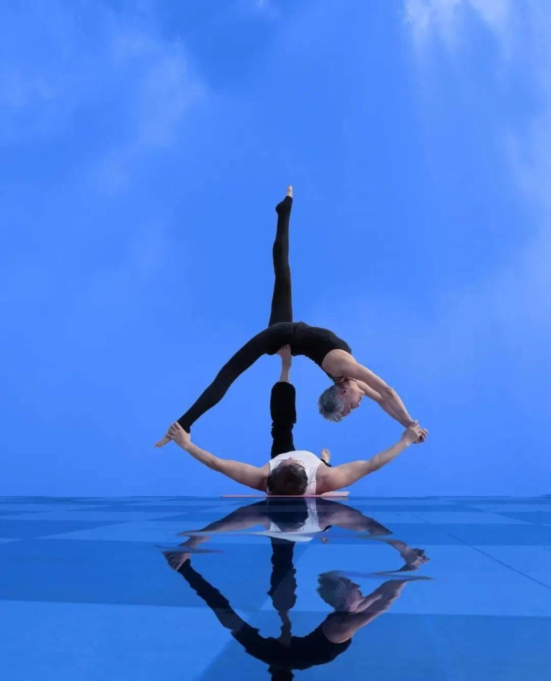 瑜伽VS不瑜伽,10年后差距有多大?_高姐