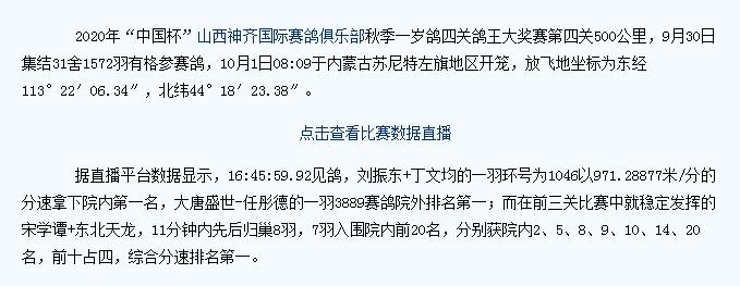 山西神奇决赛关,归巢不足6%,宋学谭+东北天龙