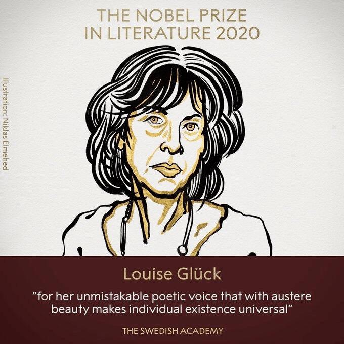 刚刚,诺贝尔文学奖揭晓!是她!