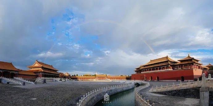紫禁城600岁,海报设计也太酷炫了!