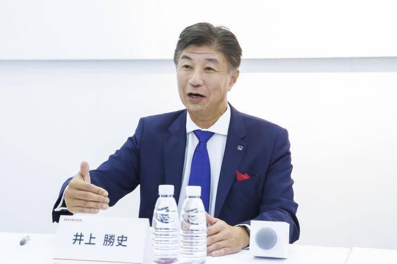 """车展对话丨首款Honda品牌纯电动概念车首发 井上胜史:本田将在中国率先实现""""2030愿景"""""""
