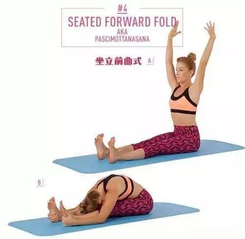 8个瑜伽姿势,腰肌酸痛症状消失了!!