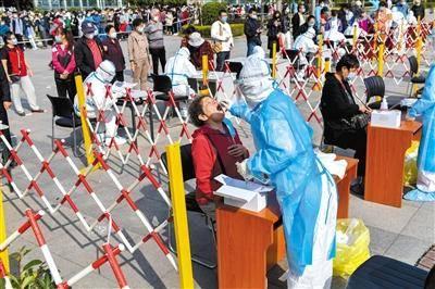 青岛已完成超百万人核酸检测采样