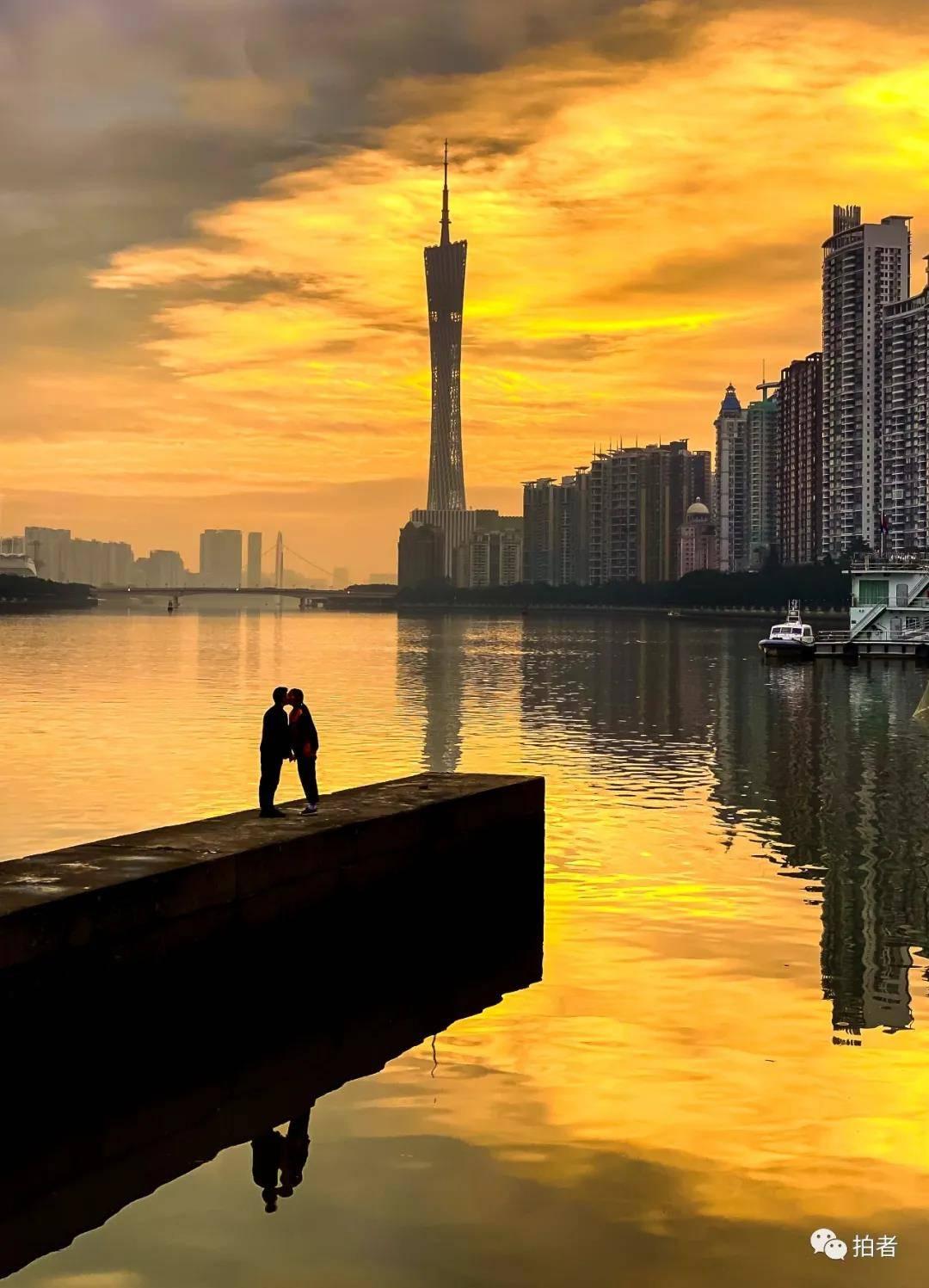 珠江边的摄影师:遛狗的时候,我在拍些什么?