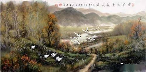 【唐风宋韵】远树飞烟歌曼婉,清溪抱影月乖伶