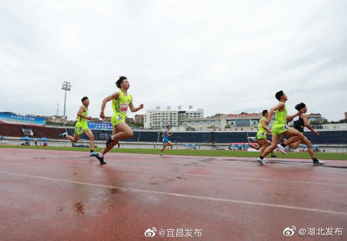 2020年湖北省青少年田径锦标赛在宜昌市体育中心体育场举行