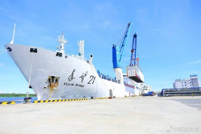 王源火箭运输舰队完成了火箭海上运输任务 并成
