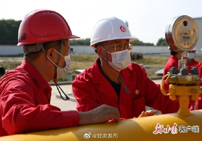 甘肃已于今年冬季通过——西气东输工程河口站改造工程验收