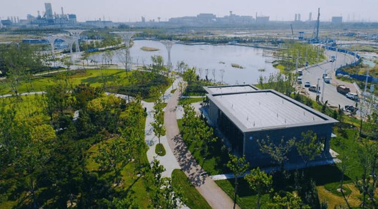 曲苑花溪公园开园:铸刻文化记忆建设新型城镇