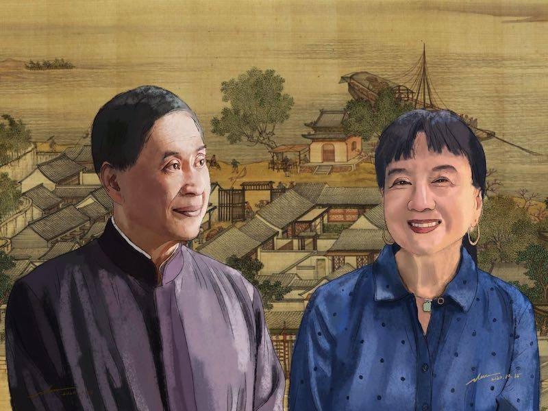 陈毓贤谈与白先勇合撰《红楼梦》英文导读