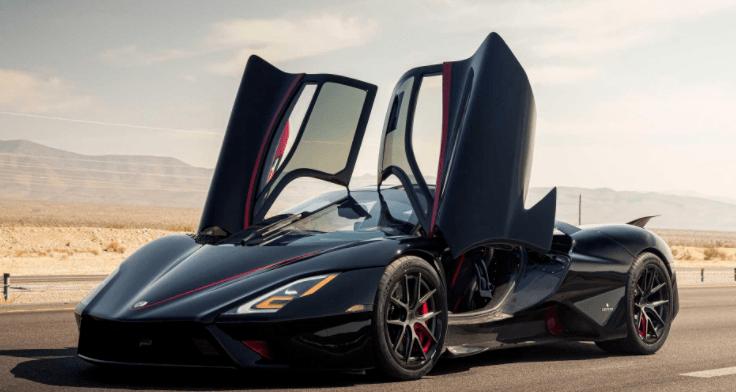 世界上最快的量产车以每小时532.7公里的速度诞生,并获得吉尼斯认证