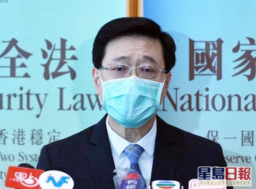 香港保安局局长:没有限制陈同佳出境,关上门的是台湾