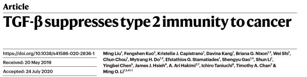 """纪念斯隆凯特琳癌症研究中心李明教授团队发明""""癌症环境免疫疗法"""""""