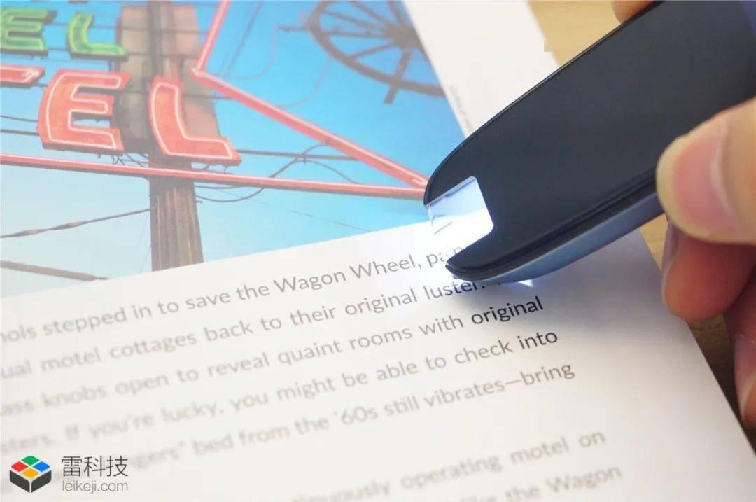 来自讯飞的扫描词典笔:0.5秒高速查词,这个丝