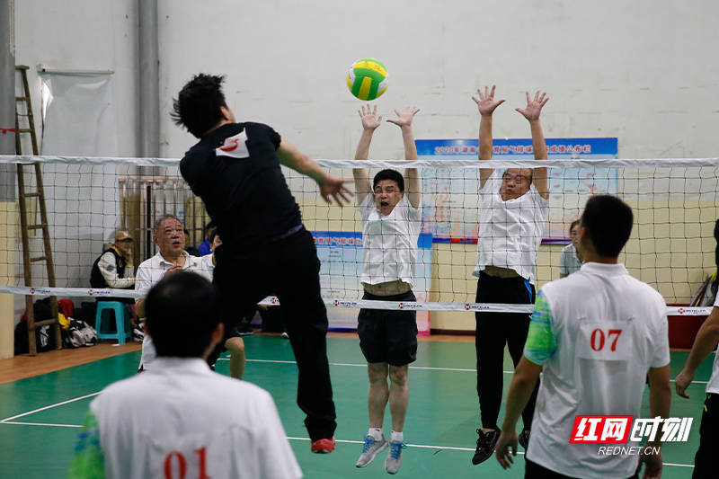 2020年湖南省体育局系统气排球赛完赛
