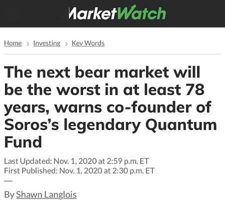 传奇投资家罗杰斯警告:下个熊市将是至少78年来最糟糕