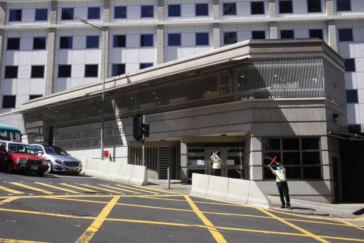 港媒:美国驻港澳总领事馆计划大规模装修,找楼面搬迁遇阻