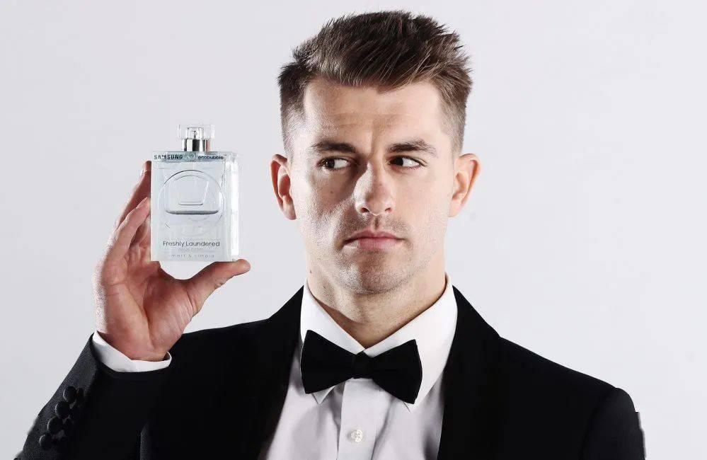 三星居然推出了一款男士香水,进军时尚圈?